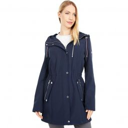 32.5 Cinched Waist Hooded Softshell