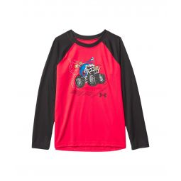 Football Monster Truck Long Sleeve (Little Kids/Big Kids)
