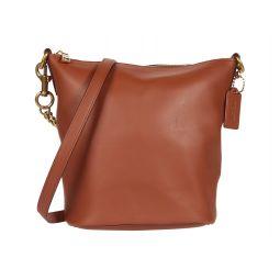 Soft Glovetanned Leather Signature Chain Duffel 21