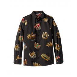 Dolce & Gabbana Kids D&G King Button Up (Big Kids)