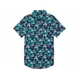 Printed Button Up Shirt (Toddler/Little Kids/Big Kids)