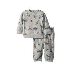 Stella McCartney Kids Billy + Loopie Bug Printed Fleece Set (Infant)