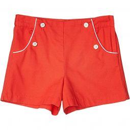 Flat Front Shorts (Toddler/Little Kids/Big Kids)