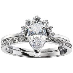 Attract Pear Ring Set