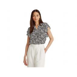 LAUREN Ralph Lauren Drapey Poly GG T-Shirt