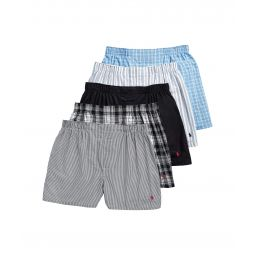 5-Pack Classic Fit Woven Boxers