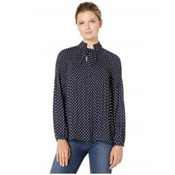 Tie Neck Georgette Top
