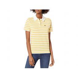 Short Sleeve Regular Fit Striped Polo Shirt