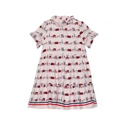Printed Ruffle Dress (Toddler/Little Kids/Big Kids)