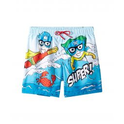 Dolce & Gabbana Kids D&G Sea Swim Trunks (Big Kids)