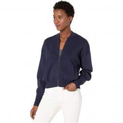 Long Sleeve Full Zip Full Needle Neo Feminine Sweater
