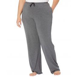 Plus Size Modal Spandex Jersey Long Pants