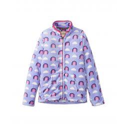 Happy Rainbows Fuzzy Fleece Zip-Up (Toddler/Little Kids/Big Kids)
