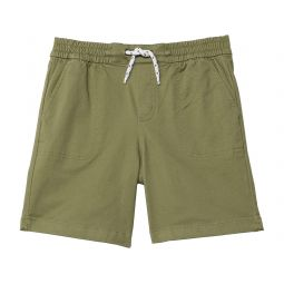 Pull-On Twill Shorts (Toddler/Little Kids/Big Kids)