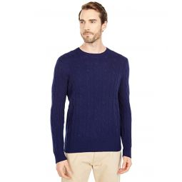 Polo Ralph Lauren Long Sleeve Cable Cashmere Sweater