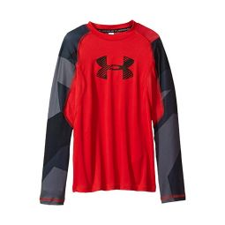 Armour HeatGear Novelty Long Sleeve (Big Kids)