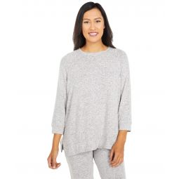 Brushed Sweater Jersey Sleep Top