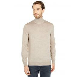 Lacoste Long Sleeve Turtleneck Jersey Tonal Croc