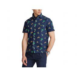 Polo Ralph Lauren Classic Fit Surfer-Print Oxford Shirt