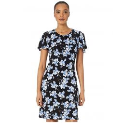 Tommy Hilfiger Blossom Bouquet Jersey A-Line Dress