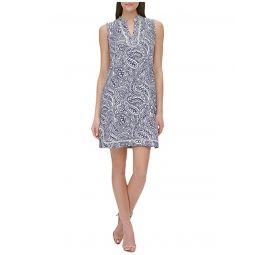 Tommy Hilfiger Atlas Paisley A-Line Dress