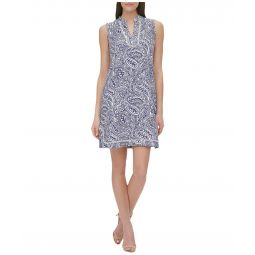 Atlas Paisley A-Line Dress