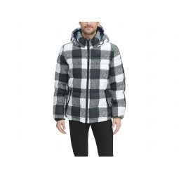 Classic Hooded Puffer Jacket (Regular and Big & Tall Sizes)