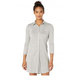 3/4 Sleeve Short Sleepshirt
