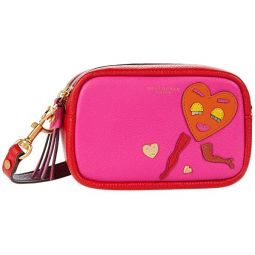 Tory Burch Perry Patchwork Heart Mini Bag