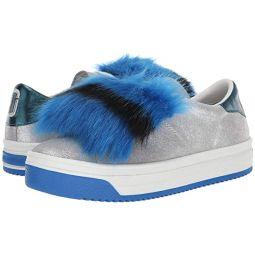 Marc Jacobs Empire Multicolor Sole Sneaker with Faux Fur
