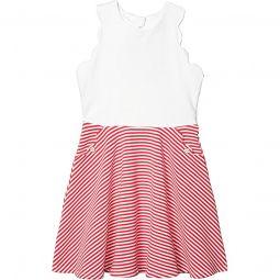 Ponte Color-Block Dress (Toddler/Little Kids/Big Kids)