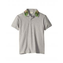 Gucci Kids Embroidery Polo 546971XJAGS (Little Kids/Big Kids)