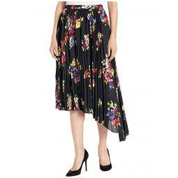 Kate Spade New York Rare Roses Pleated Skirt