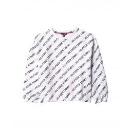 Hilfiger Printed Crew Neck Sweatshirt (Big Kids)