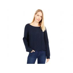 Tommy Hilfiger Cate Solid Cable Sweater