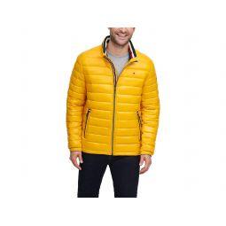 Wet Look Water Resistant Ultra Loft Down Alternative Puffer Jacket