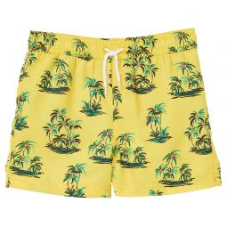 Janie and Jack Printed Swim Shorts (Toddleru002FLittle Kidsu002FBig Kids)