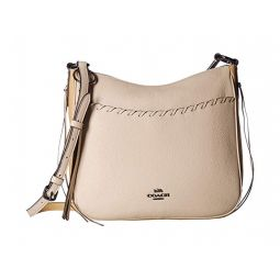 Whipstitch Color Block Chaise Crossbody