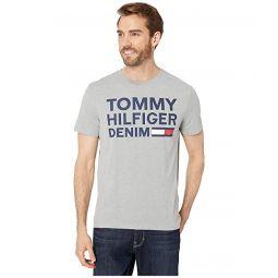 Denim Lock Up Flag T-Shirt