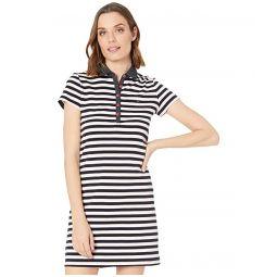 Tommy Hilfiger Short Sleeve Polo Stripe Dress