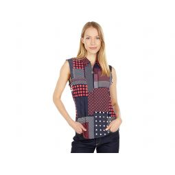 Tommy Hilfiger Printed Sleeveless Blouse