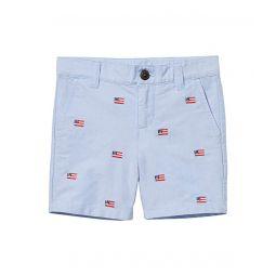 Janie and Jack Embroidered Flat Front Shorts (Toddleru002FLittle Kidsu002FBig Kids)