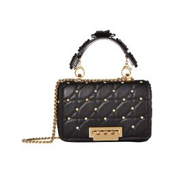 Earthette Small Soft Chain Shoulder - Solid Studded