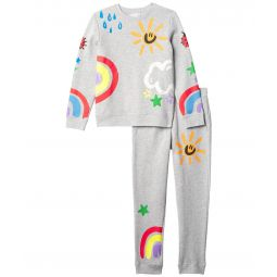 Crayon Weather Tracksuit Set (Toddler/Little Kids/Big Kids)