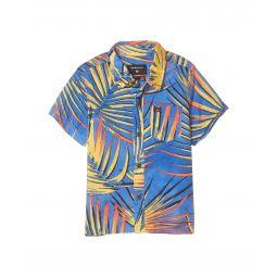 Sub Tropic Short Sleeve Woven Top (Big Kids)