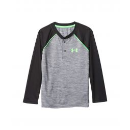 Twist Henley Long Sleeve (Little Kids/Big Kids)