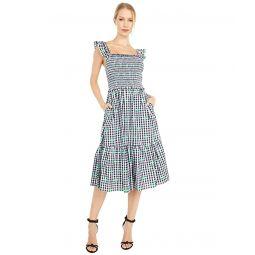 Kate Spade New York Gingham Voile Smocked Dress