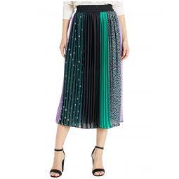 Kate Spade New York Pop Dots Print Mix Skirt