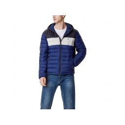Water Resistant Ultra Loft Filled Hooded Puffer Jacket