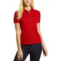Lacoste Short Sleeve Slim Fit Stretch Pique Polo